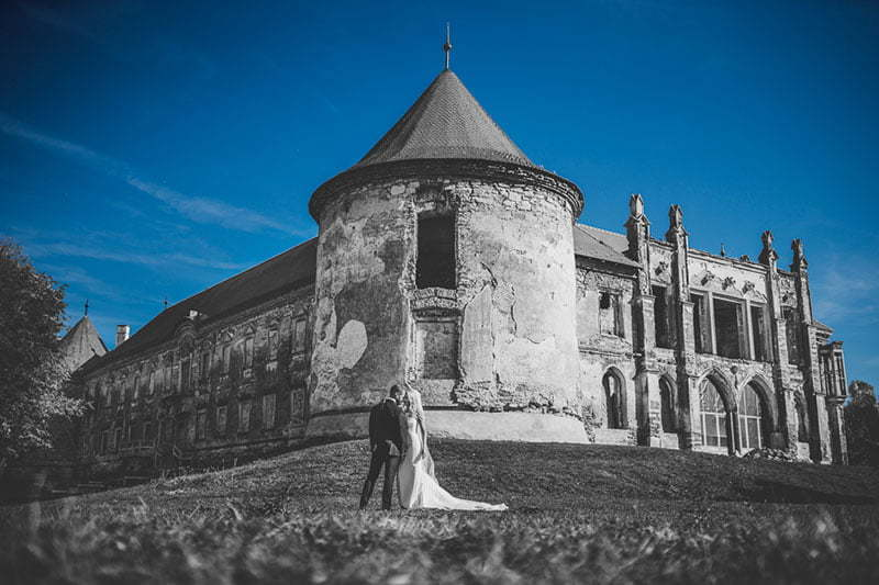 Trash the Dress la palatul Banffy